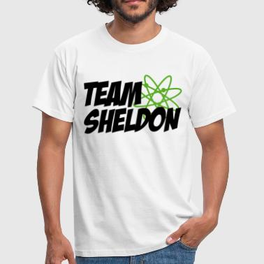 Mannen T-shirt Team Sheldon - Mannen T-shirt