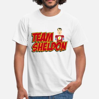 Sheldon Tee shirt Homme Team Sheldon Comic - T-shirt Homme