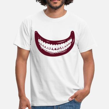 Mouth Monster mouth monster halloween horror - Men's T-Shirt