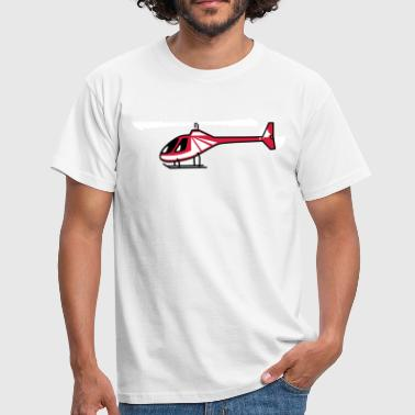 Helicopter Helicopter flying model - Men's T-Shirt