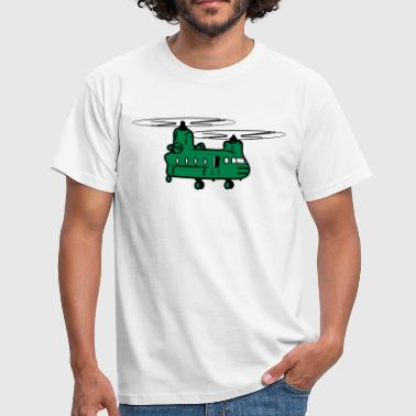 Helicopter helicopter military - Men's T-Shirt