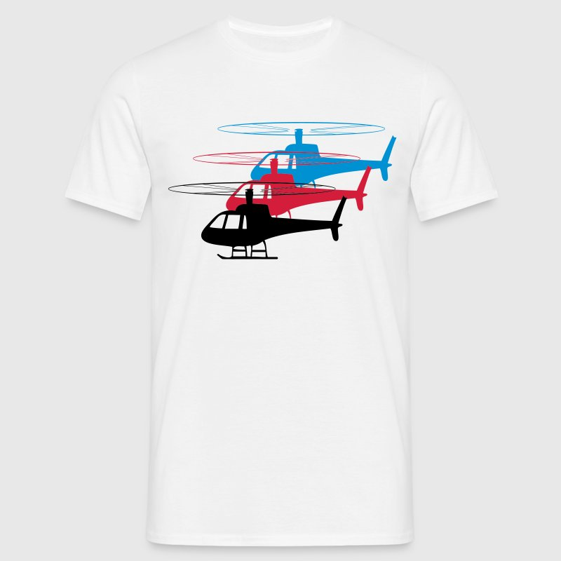 Hubschrauber Helikopter spass formation  - Men's T-Shirt