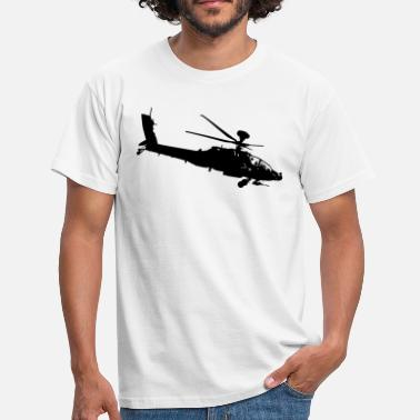 Apache Helicopter apache helicopter - Men's T-Shirt