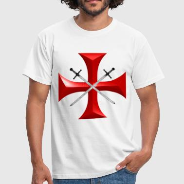 Knight Templar templar - Men's T-Shirt