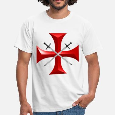 Knights Templar templar - Men's T-Shirt