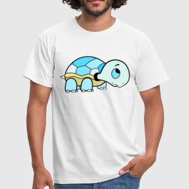 Baby Turtles Cute baby turtle / turtle blue - Men's T-Shirt