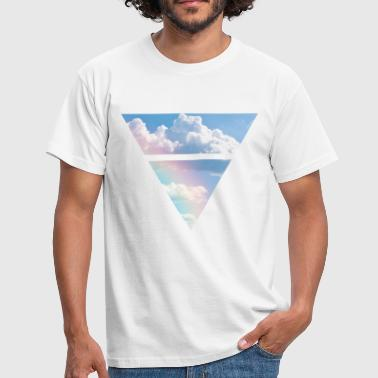 Triangle Triangle Clouds - Men's T-Shirt