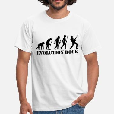 Rock Evolution Evolution Rock - Men's T-Shirt