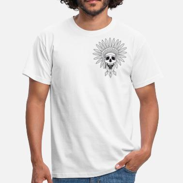 Apache Triad Kings Apache Skull - Men's T-Shirt