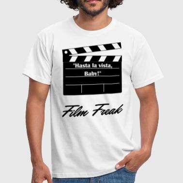 Film Zitate Hasta la vista Baby Film Freak - Männer T-Shirt