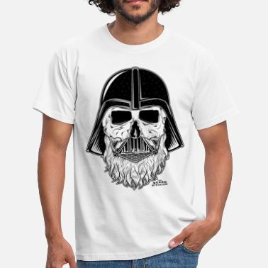 Black And White Collection darth vader beard - T-shirt Homme