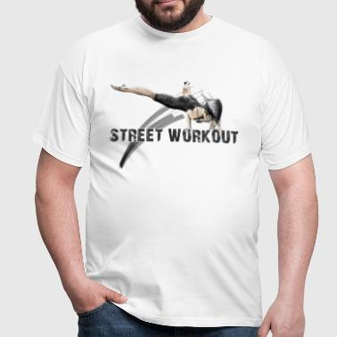 street workout girl - Camiseta hombre