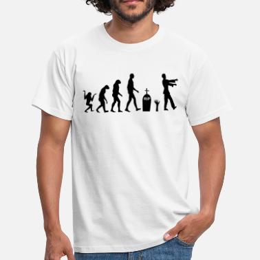 Zombie Evolution Zombie Evolution 2 - Men's T-Shirt