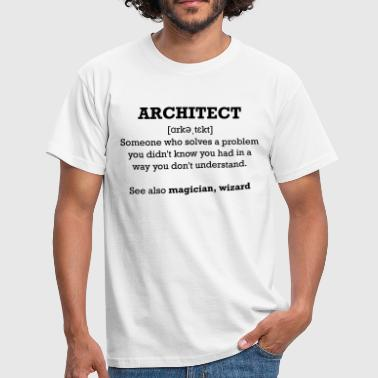 Architect - wizard - T-shirt Homme
