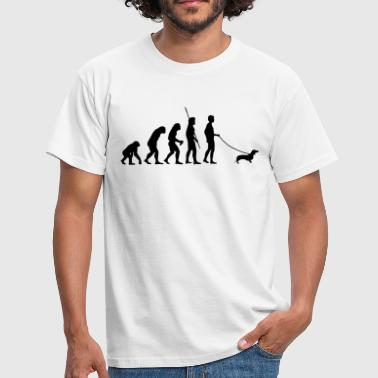 Dachshund Evolution  - Men's T-Shirt