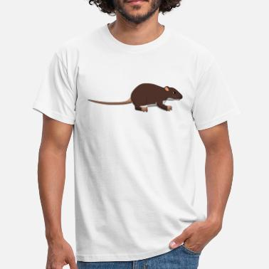 Rat Rat - Herre-T-shirt