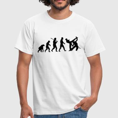 Evolution: Capoeira - T-shirt Homme