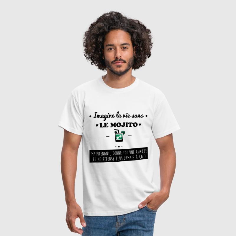 Le mojito,humour,alcool,citations,marrant - T-shirt Homme