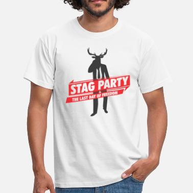 Hood Stag Party Team Groom stag party - Men's T-Shirt