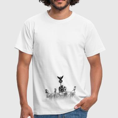 Around the World: Quadriga - Berlijn - Mannen T-shirt