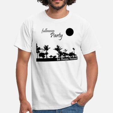 Phangan Full Moon Party - T-shirt Homme