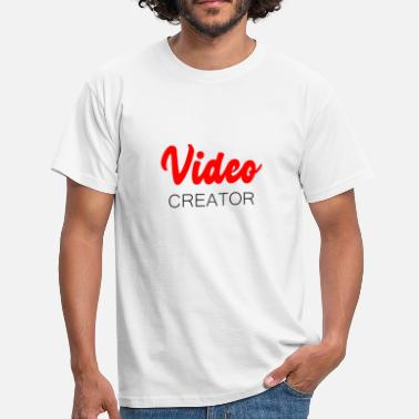 Youtuber Video Creator YouTuber - Maglietta da uomo