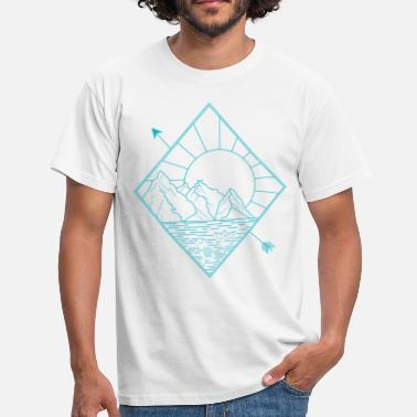 Nature Collection Alaska blue - Männer T-Shirt