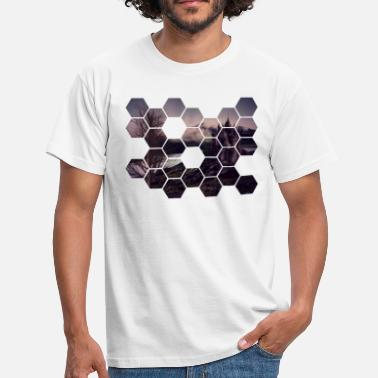 Hexagon hexagon - T-shirt herr