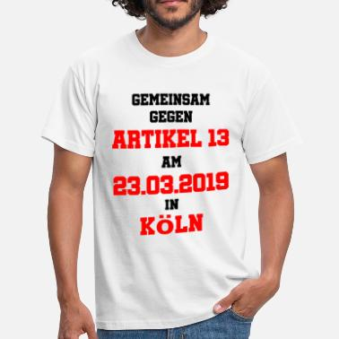 Article 13 23.03. Cologne - Men's T-Shirt