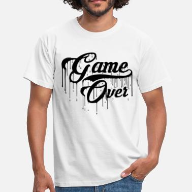 Gaming Game Over Design - Men's T-Shirt