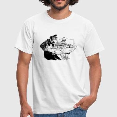 A Gentle Push - Männer T-Shirt