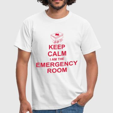 keep_calm_i_am_the_emergency_room_g1 - Männer T-Shirt