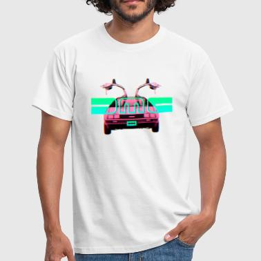 Delorean Retro Delorean - Men's T-Shirt