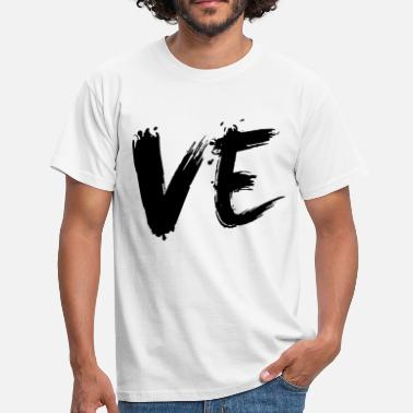 Partnerlook paarshirt - VE - LOVE - Männer T-Shirt