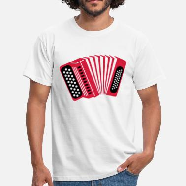 Accordeon accordeon - Mannen T-shirt
