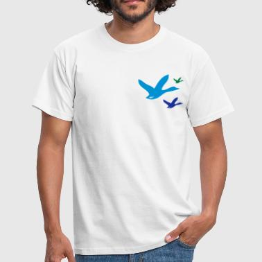 birds - T-shirt Homme