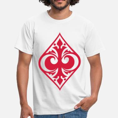 Diamante Poker Diamantes - Camiseta hombre