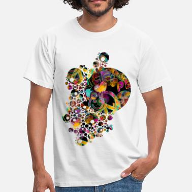 Friedensbewegung The Point Of LOVE not WAR - Männer T-Shirt