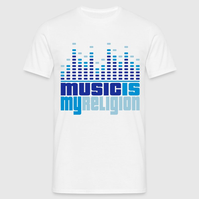 Music Equalizer Religion - Mannen T-shirt
