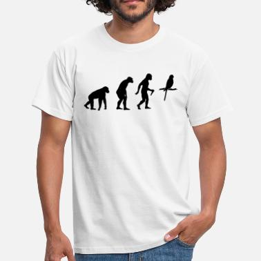 Budgie Evolution  - Männer T-Shirt