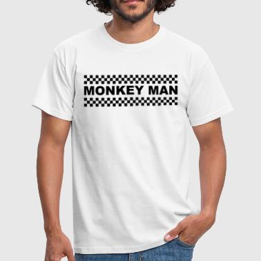 2 Tone Music Monkey Man - Men's T-Shirt