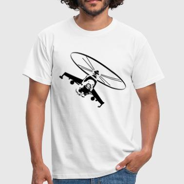 Helicopter helicopter military battle - Men's T-Shirt