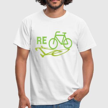 Recycling Cycle Recycle - Men's T-Shirt