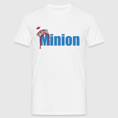 Minion (dark blue) - Men's T-Shirt