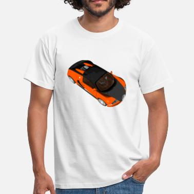Super Sport Sports car Super sports car racing car convertible - Men's T-Shirt