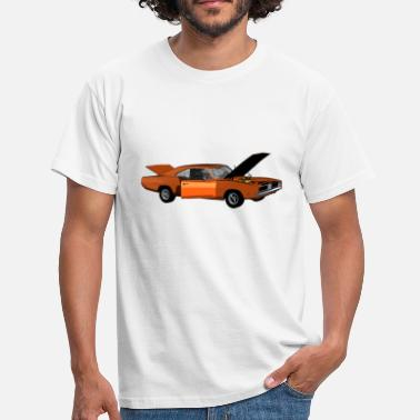 Muscle Unit Muscle Car - V8 US Muscle Classic Cars - Men's T-Shirt