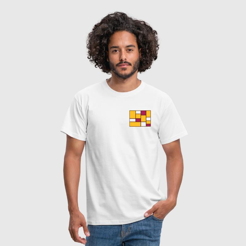 Abstract Mondrian - Men's T-Shirt