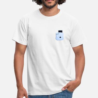 Camera Icon Polaroid Camera Instant Camera Icon Logo Gift - Men's T-Shirt