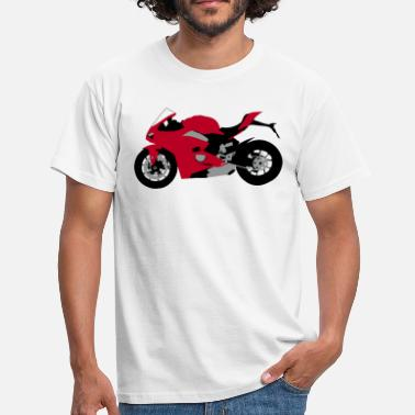sports bike 3 colours - Men's T-Shirt