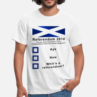 Indy Funny Scottish Referendum on Independence - Men's T-Shirt